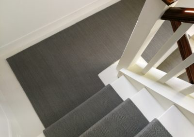 Bomat Rug Creations - Clarence runner in staircase