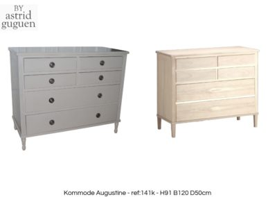 BY astrid guguen - Chest of drawer -Kommode Augustine